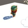 Unityでボクセルモデルの影を埋めるメモ