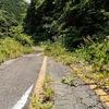 国道313号 高梁市川上町三沢の旧道 (2021. 6. 23.)