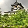 【写真複製・写真修復の専門店】犬山城の画像をお天気に 愛知