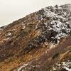 初冬の鳥海山外輪を行く
