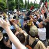 Elkore protestas mi kontraux la aprobo pri la kolektiva defend-rajto de Japanio ! / 集団的自衛権容認に断固抗議する!