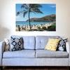 夏にオススメのインテリアコーディネート!涼しげなアートや写真をウォールステッカーで簡単に貼ってオシャレなお部屋に💡