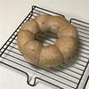 リングクルミパン、フレンチトーストと白玉ぜんざい