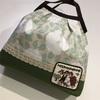 デコレクションズのカフェピオーニーでクロバーのバッグテンプレート(スクエア)のグラニーバッグ☆