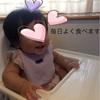・離乳食は生後約6ヶ月で開始。でもって少食の娘。