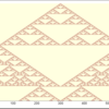 Juliaで一次元のセルオートマトンを描画する