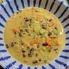 【むくみ、腸内環境が気になる人へ】小豆と野菜とアサリの豆乳味噌スープの作り方。
