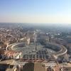 2014年イタリアドライヴその6:ローマ市街の夜&サン・ピエトロ大聖堂の頂上に登る