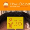 今日の顔年齢測定 215日目
