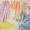 【2歳4歳育児】フロッタージュ(こすり絵)【お絵かき遊び】