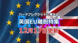 「移行期間は11カ月 EUと貿易協定が結べないと・・・」ハードブレグジットに備えよ!英国EU離脱特集