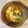 牡蠣豆腐鍋、唐揚げ、アボカドこぶサラダ