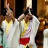 後方で演舞の踊り手を撮れたか:YOSAKOI高松祭り撮影、爺の課題(4)