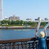 早慶レガッタ 隅田川へ白熱のボートレースを見に行く! &謎の水中生物も見ちゃった