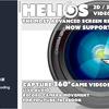 Helios ウェブサイトでの360度動画、VR没入感を楽しむための映像データを手軽に作成