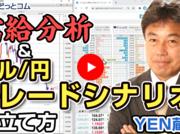 【セミナー】需給分析&ドル/円のトレードシナリオの立て方「YEN蔵氏」 2020/11/27