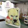 キッチンカー・移動販売の収納可能な置型看板の製作事例