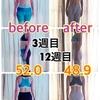【産後ヨガ減量】12週目。開始時から-3.7キロの比較写真掲載