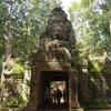 アンコールワット個人ツアー(220)アンコールワットの大回りコースのタ•ソム寺院