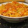 野菜高い時はこれw【1食67円】野菜ジュースdeナポリタン簡単レシピ〜定番スパゲティもヘルシーに〜