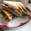 GW2日目突入~!ボリューミー!ハム・ベーコン・たまごのトリプルサンドで朝食はおなか一杯!
