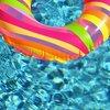 連休中の晴れ間に、市営の「児童プール」へ行ってきました