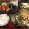 秋田 グルメ 藪善 ランチのそば定食は唐揚げが絶品