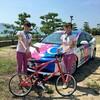 【RCCラジオカー】#とびしま自転車trip を生放送