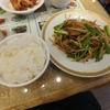 大手町【魯香酒楼】ニラレバ定食 ¥730