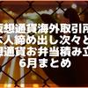 仮想通貨kuCoin等海外取引所日本人締め出し次々と…。お弁当積立 6月まとめ