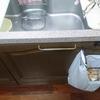 【お台所作業が捗る】レジ袋ハンガーに行き着きました