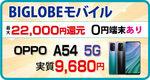 【9月 】BIGLOBE mobile・人気スマホが最大22000円分ポイントバック