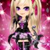 ゲーム「恋してキャバ嬢」のアバター♪ハロウィン仮装パーティー~猫と小悪魔編