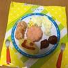 お菓子のお子様ランチにお寿司(笑)