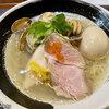 【八幡山】麺処しろくろ ~浅蜊とムール貝の汐そば~