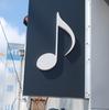 Tiny Studio music school に看板が出来ました。