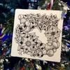 トラディショナルなゼンタングル クリスマス風に使える公式タングル