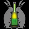 二兎、純米吟醸、出羽燦々五十五生原酒は流れるようなラインの甘味