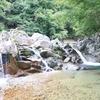 高山市清見町坂下の滝
