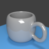 Blender 184日目。「マグカップのモデリング②」その2。