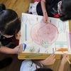 3年生:授業参観の準備