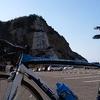 ロードバイクで白崎海洋公園
