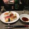 【食】寿司とシャンパン