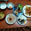 幸運な病のレシピ( 2395 )昼 :揚げ物一式、焼き魚