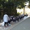 さきとり幼稚園の七五三詣が行われました