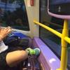 バスの中で痴漢騒動