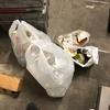 早朝駅前に祭りのゴミは落ちてましたが、一箇所に集められていました。素晴らしい!