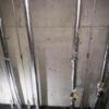 札幌 1階駐車場型アパート 水道管凍結修理