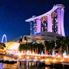 シンガポール旅④ 【シンガポールスリング】和食のお店とマリーナベイの夜景を満喫