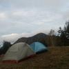 雲取山荘テント場